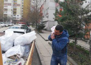 изхвърляне на отпадъци връбница
