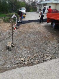 асфалтиране на участък от път