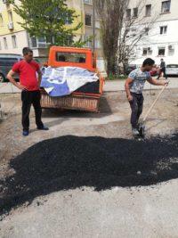 асфалтиране ръчно и с машина