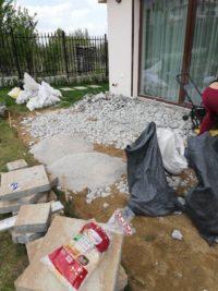 къртене на бетонна настилка