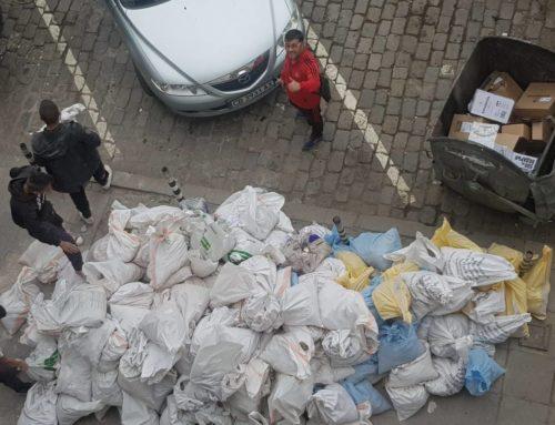 Извозване на строителни отпадъци с чували